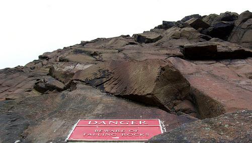 falling rock