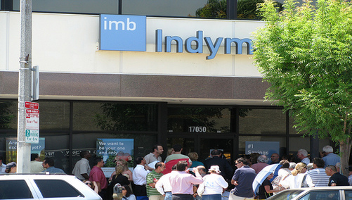 indymac bank run