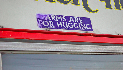 arms for hugging