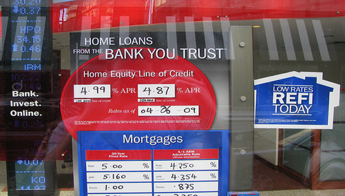bank of america mortgage rate: