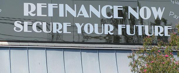 refinance now sign