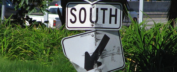 south sign