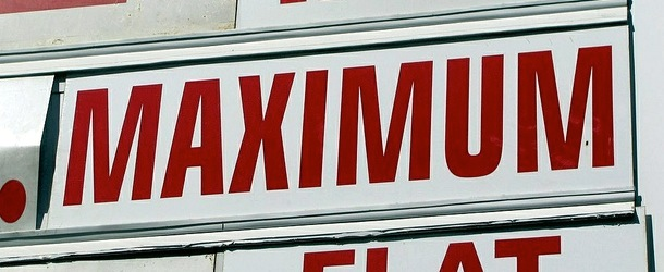 maximum sign