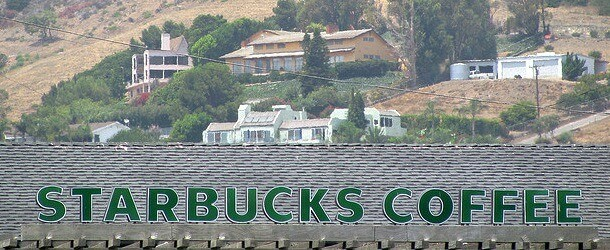 Homes Next to Starbucks Are Worth More