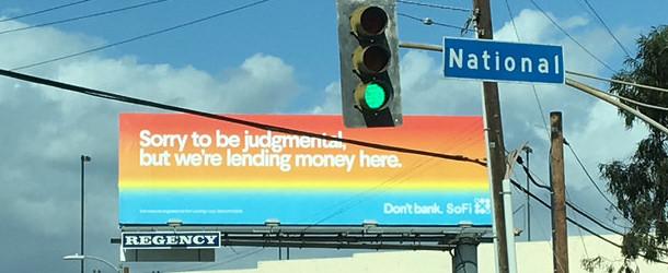 mortgage billboard