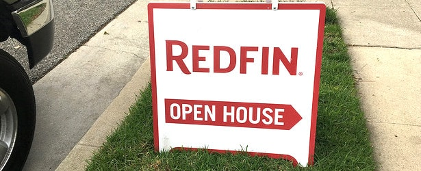 Redfin sign