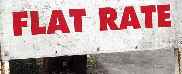 flat rate
