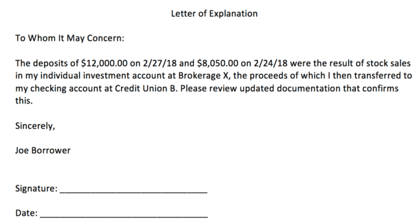 What is a letter of explanation the truth about mortgage the screenshot above is a sample loe template i created in a matter of minutes if youre wondering how to write a letter of explanation expocarfo