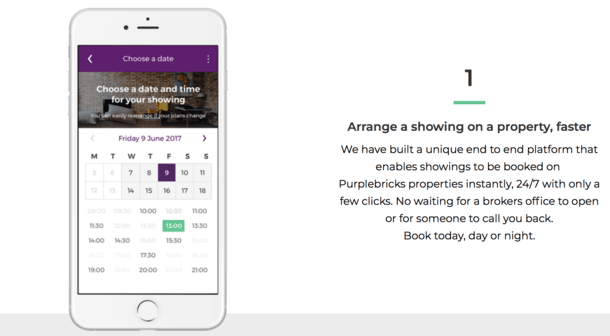 showings app