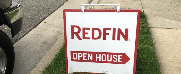 redfin open house