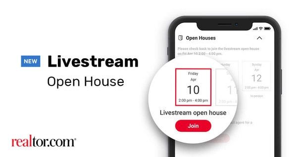 Livestream open house