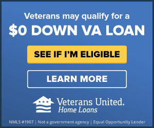 Veterans may qualify for a $0 down VA loan