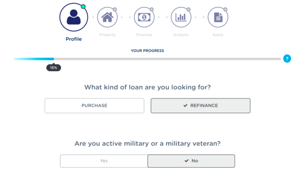 NewRez loan application