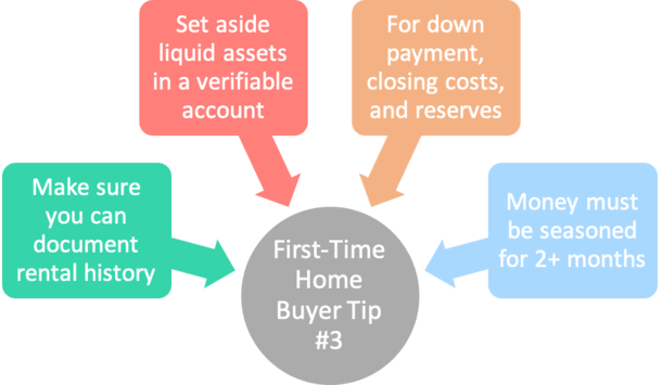 first time home buyer tip 3